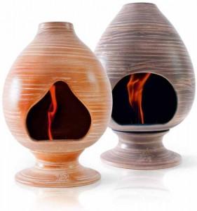 camini a bioetanolo in ceramica