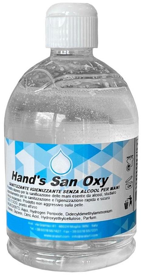 Igienizzante mani GEL Hand's San OXY
